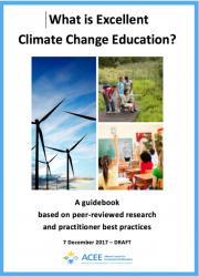 Climatechange education